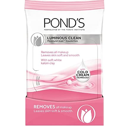 Amazon.com: Ponds Lum Clean Towelette Size 30ct Ponds Luminous Clean Towelette 30ct: Beauty