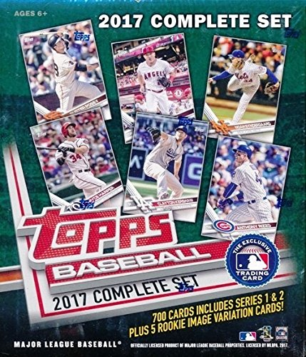 Complete Retail Factory Set (705 Cards) with 2 Aaron Judge Rookies (Topps Factory Set Baseball)