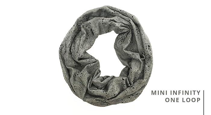 e1ba62b6e6a Amazon.com: MINI INFINITY - Black Seaspray on Dark Gray: Handmade