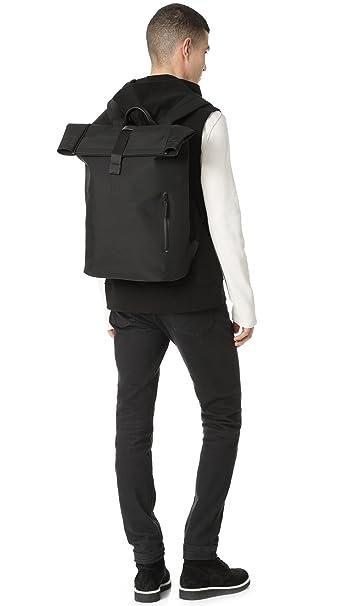 6e41fb2bd Amazon.com   Troubadour Men's Rolltop Rucksack, Black, One Size   Backpacks