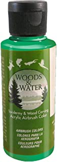 product image for Badger Air-Brush Co. 4-Ounce Woods and Water Airbrush Ready Water Based Acrylic Paint, Opaque Green
