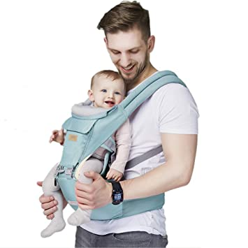 Amazon Com Green Brighter Elements Ergonomic Baby Carrier With Hip