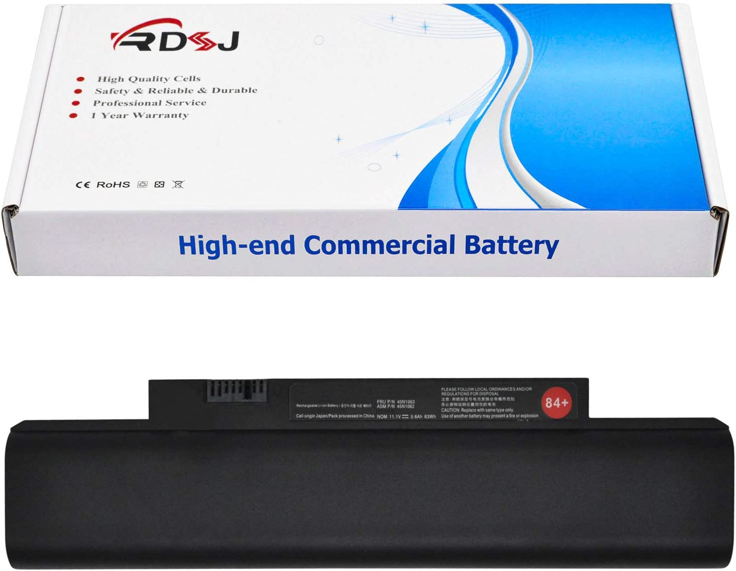 42T4947 42T4948 84+ 63Wh Battery Replacement for Lenovo ThinkPad Edge E120 E125 E130 E135 E145 E320 E325 E330 E335 L330 X121e X130e X131e X140e 42T4951 45N1174 42T4958 42T4957 0A36290