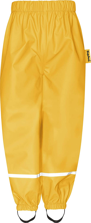 Wind- und wasserdicht Buddelhose zum /Überziehen f/ür Jungen Playshoes Kinder Regenhose Bundhose