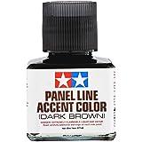 Tamiya Panel Line Accent Color Dark Brown 87140