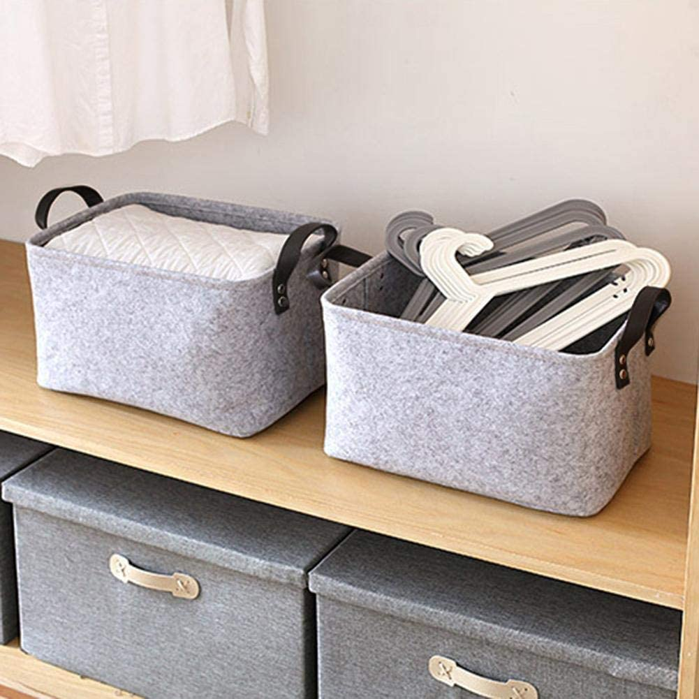 RunkeU Wood Log Carrier Felt Log Baskets Firewood Basket Storage Felt Bag Shopping Basket Large Capacity Laundry Storage Basket Suitable For Storing Clothes//toys//books Etc