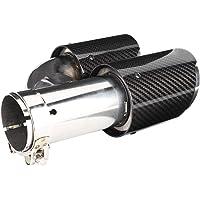 KIMISS Tubo de escape de escape universal, tubos