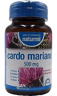 Cardo Mariano 250mg, 120 Cápsulas, Extracto de Silimarina 80 ...