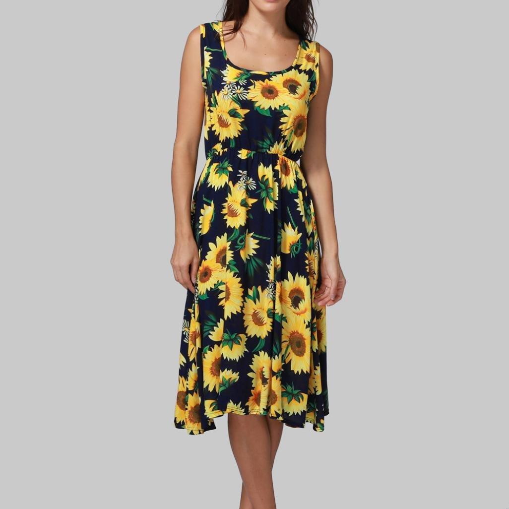Oyedens kleider sommer damen Frauen Sommer Kleid Sexy: Amazon.de: Kamera