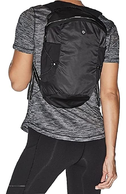 3c655721f2 Amazon.com  Lululemon Run All Day Backpack II (Black)  Sports   Outdoors