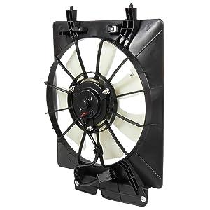 ROADFAR Radiator Cooling Fan Fit for 2002-2006 Honda CR-V 2003-2006 Honda Element 620-233