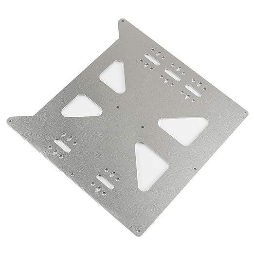 JFCUICAN Accesorios de Impresora 3D V2 Caliente Soporte Cama Placa ...