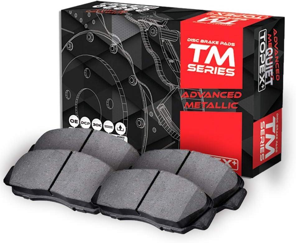 Frezo Quiet Disc Front Semi-Metallic Brake Pads For Volvo S60 T5 S80 V70 MD0794