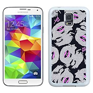 Fashionable Betsey Johnson 24 Galaxy S5 Generation Phone Case in White