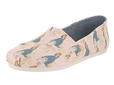 Amazon.com | TOMS Sleeping Beauty Pink Slip-ons 10012720 (Size: 6.5) | Fashion Sneakers