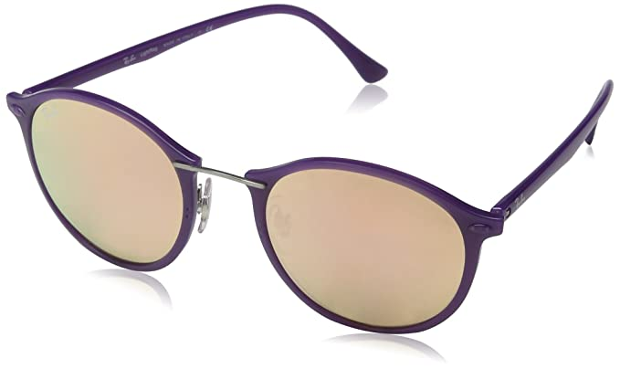 14b7d9883 Image Unavailable. Image not available for. Color: Ray-Ban Women's Mirrored  Round Sunglasses ...