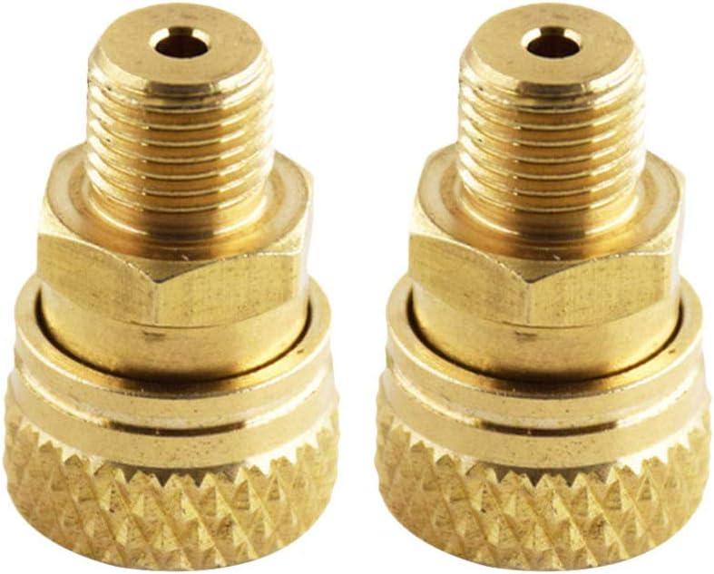 ULTECHNOVO - Juego de adaptadores de lavadora a presión M10 para inflador hembra de 30 mpa, rosca externa de 8 mm, 2 unidades