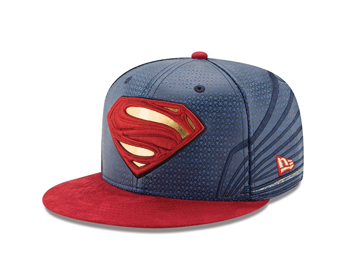 info for e6eb2 d5966 Amazon.com  Superman Justice League Armor 59Fifty Fitted Hat  Clothing