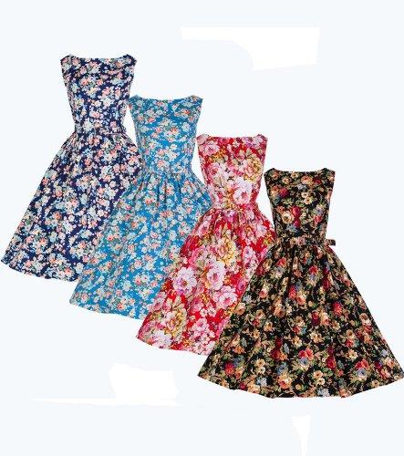 Lindy-Bop-AUDREY-Vintage-Style-1950s-Spring-Garden-Floral-Party-Dress