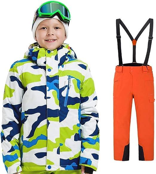 Sumferkyh Traje de Esquiar Trajes de esquí para niños y niñas ...