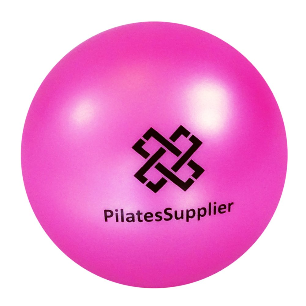 Pilates 4'' (10cm) Accessory Mini Ball for AeroPilates, Yoga, Fitness, Strength, Pilates Reformer or Mat Pilates PINK