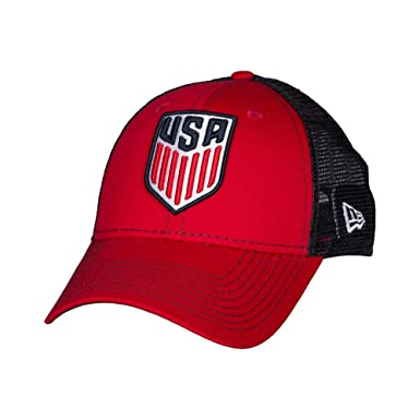 bb3cc03e2fd USA Soccer New Era 9Forty Bold Mesher Structured Adjustable Hat at ...