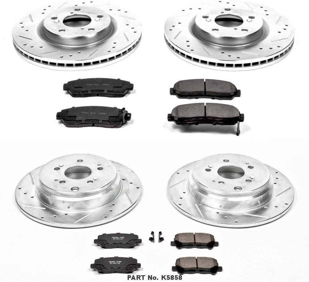 Power Stop K5858 1-Click Brake Kit