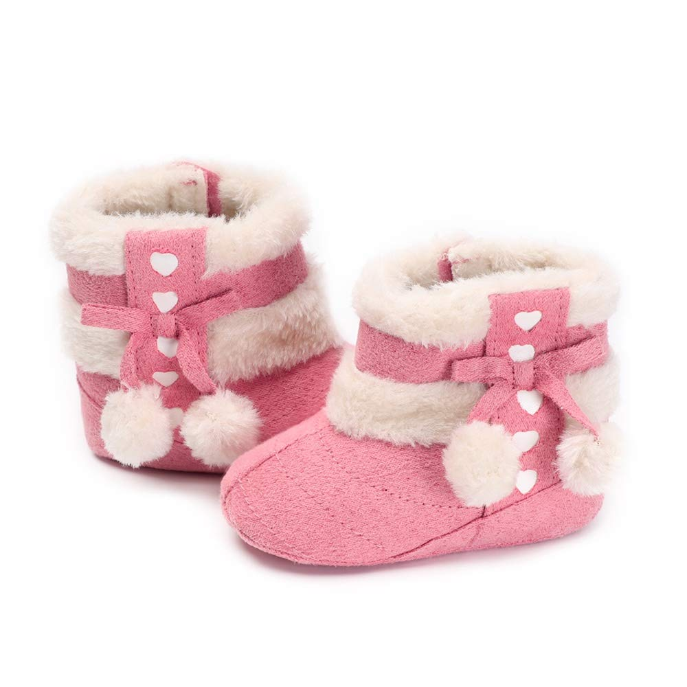 MZjJPN Winter Baby Shoes Boots Infants Warm Shoes Faux Wool Girls Booties Sheepskin Boy Baby Boots Newborn Shoes