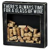 Wine Shadow Box Cork Holder - 10in.L x 2 1/2in.W x 10in.H