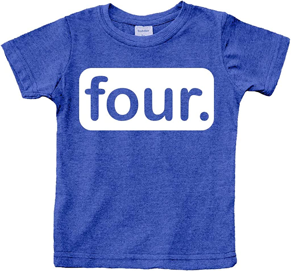 4th Birthday Shirt boy Gifts for 4 Year Old Boys Shirts Toddler Tshirt Fourth