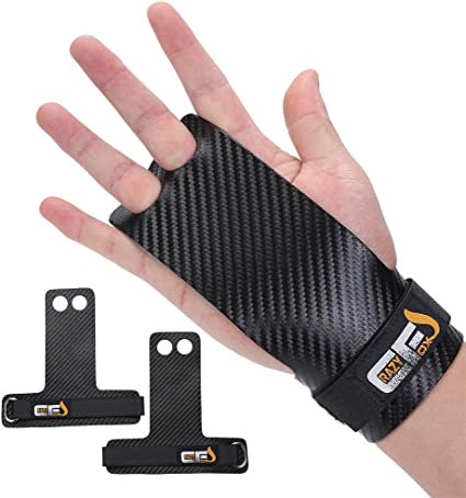 CRAZY FOXS Gymnastics Grips for Hand Protection Perfect for Crossfit Pull-ups Kettlebell Gymnastic Rings New Ergonomic Design