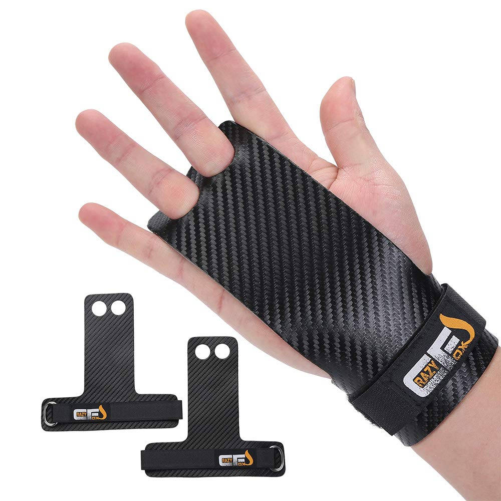 Gymnastics Hand Grips Palm Protection Gloves and Wrist Support for Cross Training Kettlebells Powerlifting Chin Ups Barbell Pull Ups WODs Fitness Workout