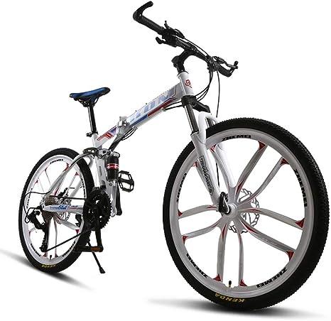 Huoduoduo Bicicleta, Bicicleta De Montaña, 26 Pulgadas De 27 Speed ...