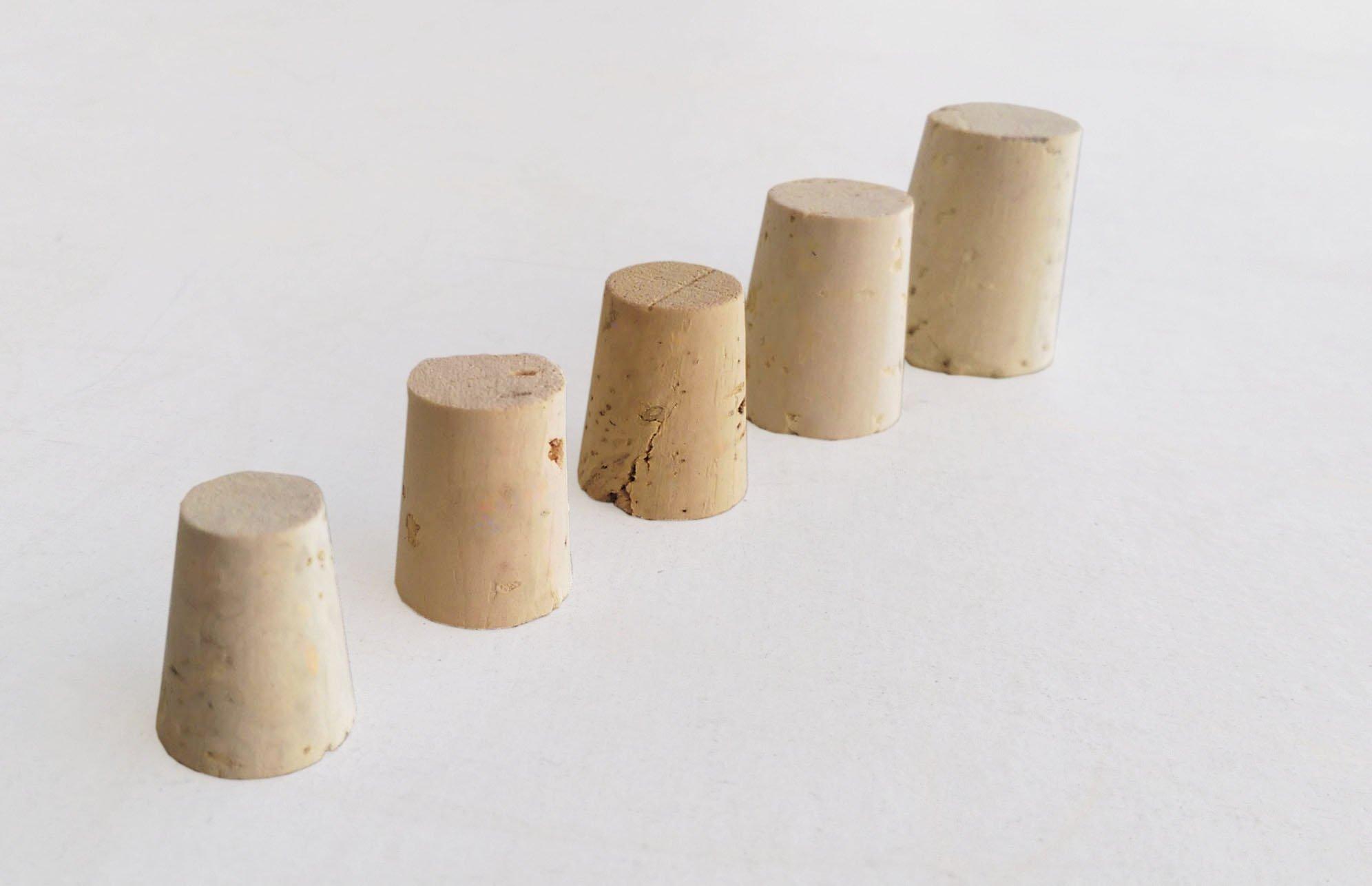Small bag of Mixed Regular Length (RL) Natural Tapered Corks Bag of 45 (RL04, RL05, RL06, RL08, RL10) by Jelinek Cork Group (Image #4)