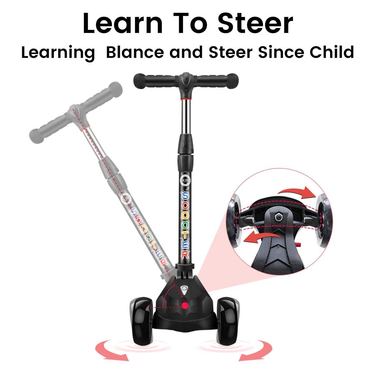Amazon.com: Kick Scooter - Patinete para niños (3 ruedas ...
