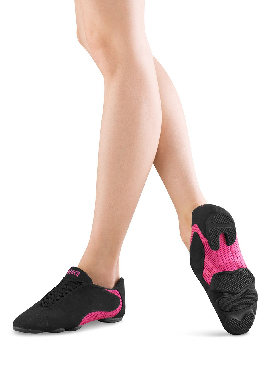 Bloch Dance Women's Amalgam Canvas Dance Sneaker, Hot Pink, 9.5 X(Medium) US by Bloch (Image #5)