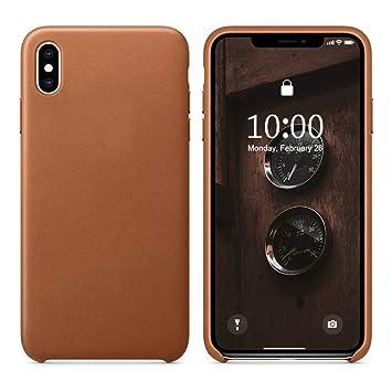 coque en cuir pour iphone xs max