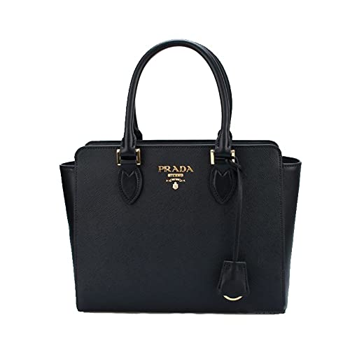 63c607a3fb75d2 ... italy prada womens saffiano leather shoulder tote handbag 1ba113 f8cd6  2456f amazon ...