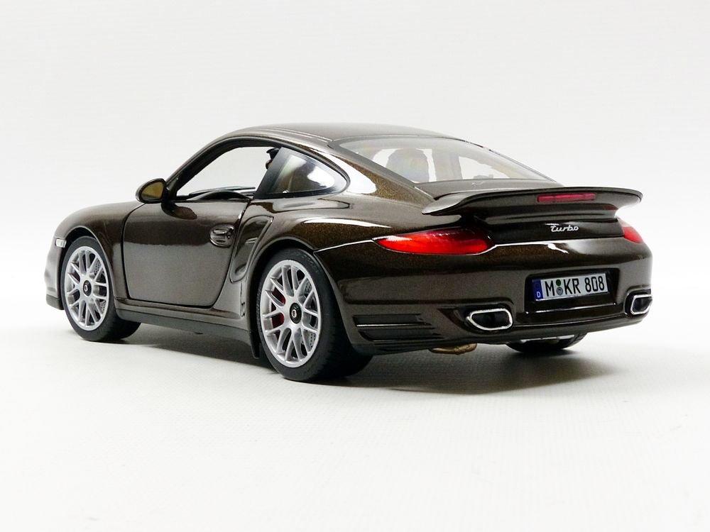 Amazon.com: Norev 187622 2010 Porsche 911 Turbo Brown Metallic 1/18 Diecast Model Car: Norev: Toys & Games