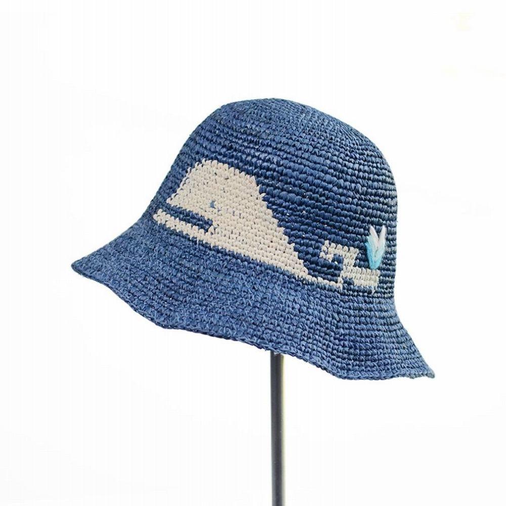 SLR Strohhut-Sonnenhut-Sonnenhut des Huts der Frau Sommerjapanischer Handfischerhut-Kunst Frischer
