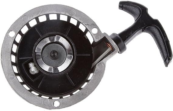 Aluminium Pull Starter Rückschlag Für 47cc 49cc Mini Pocket Bike Atv Silber Auto