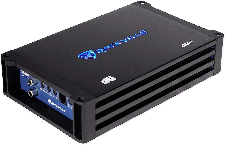 750w RMS @ 2 Ohm CEA Compliant Mono Car Amplifier Rockville dB13 3000 Watt Peak
