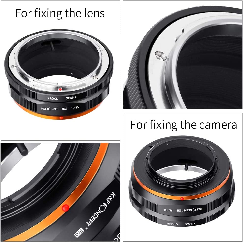 gaixample.org K&F Concept Updated FD to FX Adapter Manual Lens ...