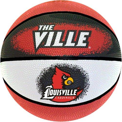 NCAA Louisville Cardinals Mini Basketball, - Louisville Cardinals Ncaa Basketball