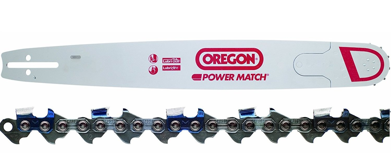 "Oregon 280RNDD176 28"" Chainsaw Bar + Oregon 72LGX092G 92 Drive Link Chainsaw Chain Loop Combo"