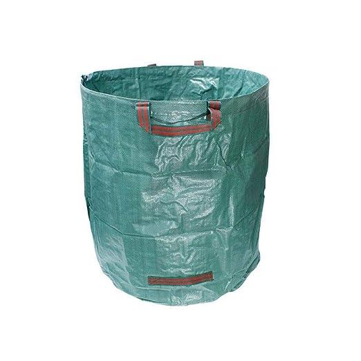 LAURUSQ - Bolsas de Basura Reutilizables para jardín, 3 ...
