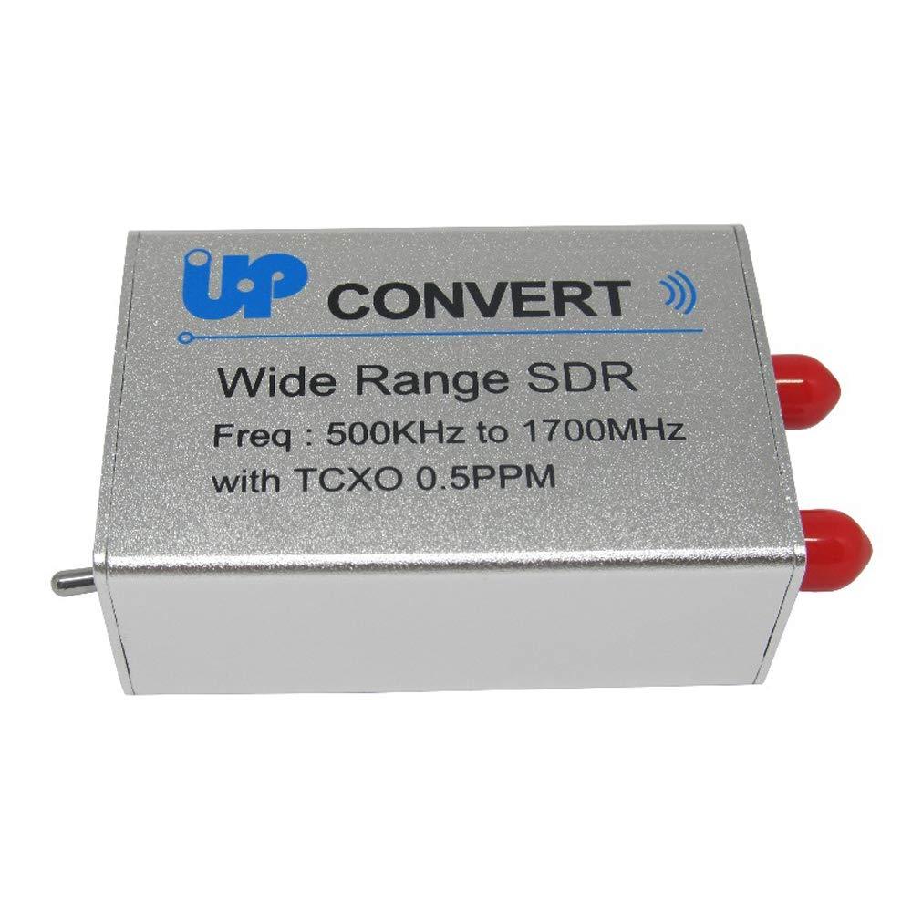 SODIAL USB Rtl Sdr Receiver 100Khz-1.7Ghz Full Band Uv Hf Rtl-Sdr Tuner Stick Support Up-Convert Winth Rtl2832U Txco 0.5Ppm SMA N300U
