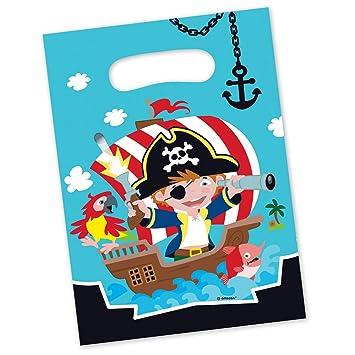 NET TOYS 8 Coloridas Bolsas Sorpresa Motivo Pirata | Aprox ...