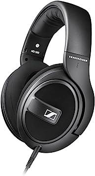 Oferta amazon: Sennheiser HD 569 - Auriculares de Diadema Cerrados (6.3 mm/3.5 mm, micrófono, Control Remoto), Color Negro