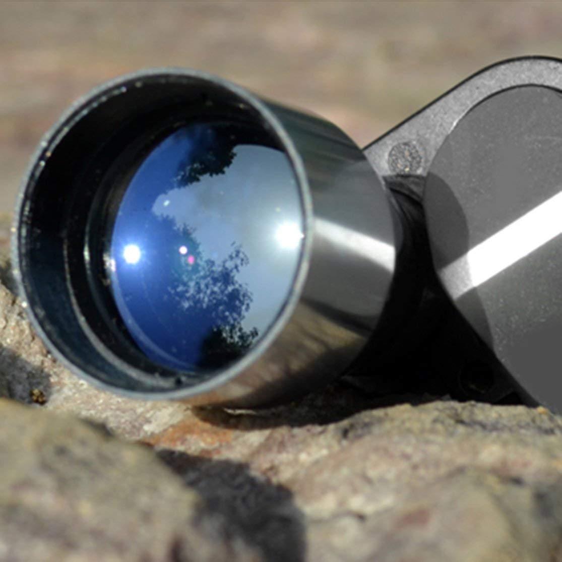 LouiseEvel215 Mini Portable Monocular Telescope 8x20mm Fully Coated Optics 282ft//1000yds Solid Aluminum Alloy Outdoor Exploration Microscope